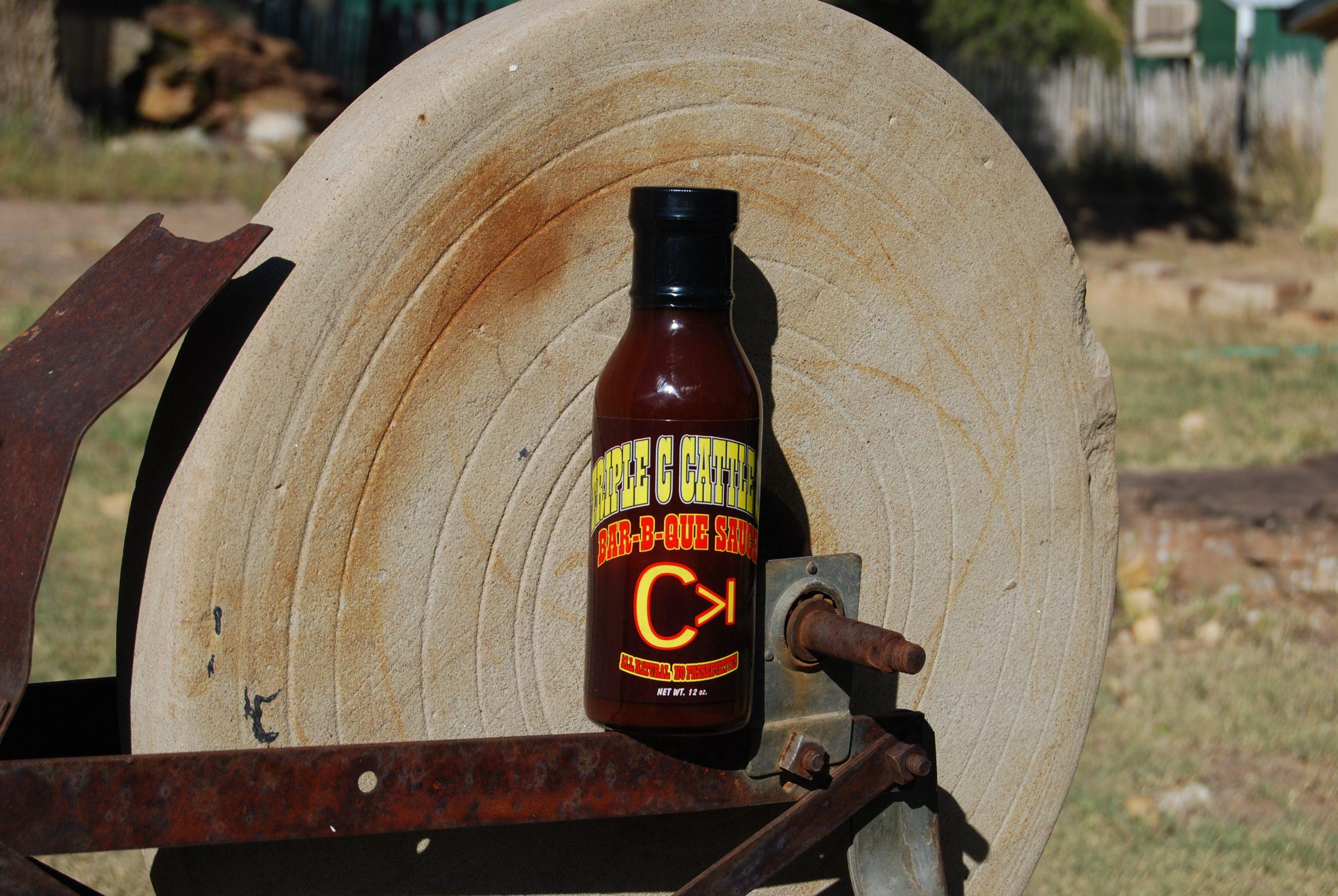 Triple C BBQ Sauce Bottle